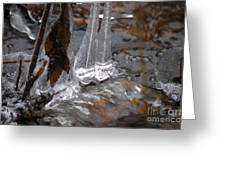 Ice Stream Creations Greeting Card