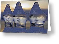 Ice Trio Greeting Card