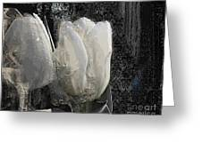 Ice Tulip  Greeting Card