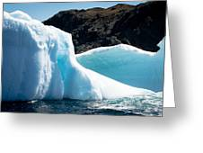 Ice Vii Greeting Card by David Pinsent