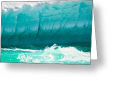 Ice Viii Greeting Card by David Pinsent