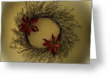 Ice Wreath Greeting Card
