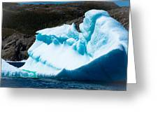 Ice Xiv Greeting Card by David Pinsent