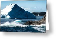 Ice Xxi Greeting Card