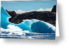 Ice Xxiii Greeting Card by David Pinsent
