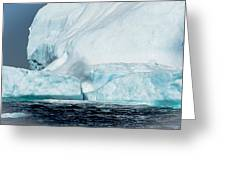 Ice Xxiv Greeting Card by David Pinsent