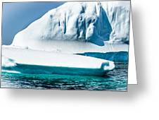 Ice Xxv Greeting Card by David Pinsent