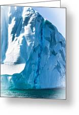 Ice Xxvi Greeting Card by David Pinsent