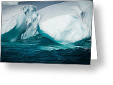 Ice Xxxi Greeting Card by David Pinsent