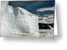 Iceberg At Cape Hallett Antarctica Greeting Card