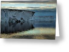 Iceberg In The Ross Sea At Night Greeting Card