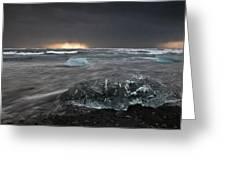 Iceberg Led Us Greeting Card