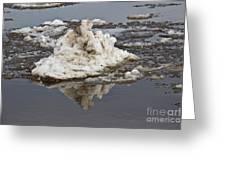 Iceberg Mini Greeting Card by Tom Gari Gallery-Three-Photography
