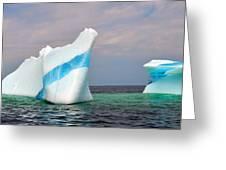 Iceberg Off The Coast Of Newfoundland Greeting Card