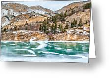 Iced Over Greeting Card