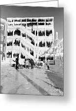 Icehouse Greeting Card
