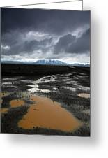 Iceland After The Rain Greeting Card