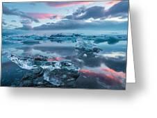 Iceland Daybreak Greeting Card