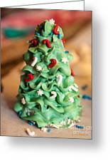 Icing Christmas Tree Greeting Card