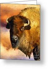 Icon Of The Plains Greeting Card