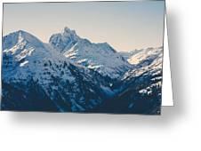 Iconic Arlberg Greeting Card
