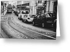 Iconic Lisbon Streetcar No. 28 V Greeting Card