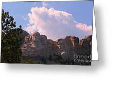 Iconic Mount Rushmore Greeting Card