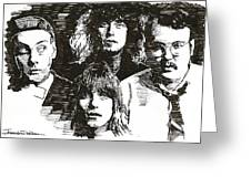 Icons - Cheap Trick Greeting Card
