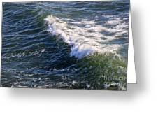 Icy Cold Ocean Water Greeting Card