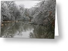 Icy Wonderland Greeting Card