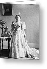 Ida Saxton Mckinley (1847-1907) Greeting Card
