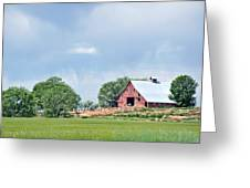Idaho Falls Barn Greeting Card