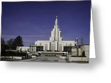 Idaho Falls Temple Greeting Card