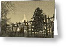 Idaho Falls Temple Series 5 Greeting Card