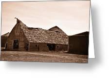Idaho Falls - Vintage Barn Greeting Card