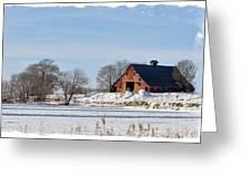 Idaho Falls Winter Greeting Card