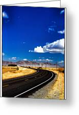 Idaho Road Titl Shift Greeting Card