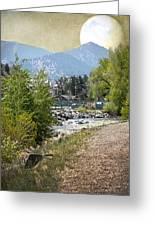 Idaho Springs Paradise Greeting Card