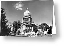 Idaho State Capitol Building Greeting Card