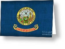 Idaho State Flag Greeting Card by Pixel Chimp