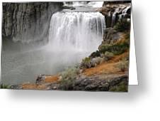 Idaho Waterfall Greeting Card