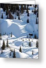 Idarado In The Winter Greeting Card