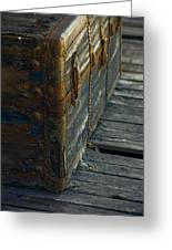 If This Old Trunk Could Talk Greeting Card