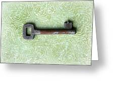 If You Find The Lock You Own Me Greeting Card by Lorraine Heath