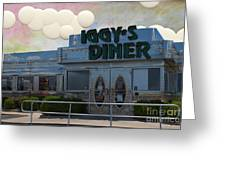Iggy's Diner Greeting Card