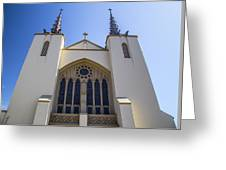 Iglesia 2 Greeting Card