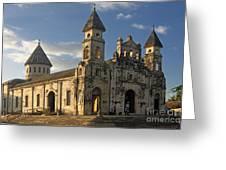 Iglesia De Guadelupe In Granada Nicaragua Greeting Card
