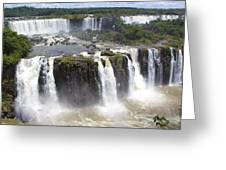 Iguacu Falls Brazilian Side Greeting Card