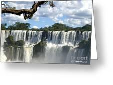 Iguazu Falls Greeting Card