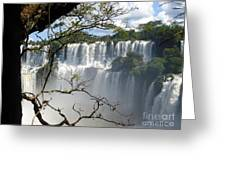 Iguazu Falls II Greeting Card